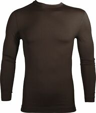 Under Armour ColdGear Evo Long Sleeve Mens Running Top - Brown