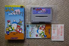 "Hashire Hebereke ""Very Good Condition"" Nintendo Super Famicom SFC Japan"