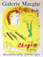 """Marc Chagall Poster """"Galerie Maeght"""" (poster)"""