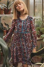 "Gorgeous Anthropologie Floreat ""Abia Velvet Peasant Dress"" Size XL X Large NWT"