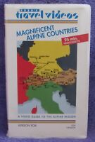 MAGNIFICENT ALPINE COUNTRIES Fred's Travel Videos VHS Rare Europe Tours Vintage