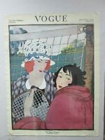 Vintage Summer Fashions Poster Japanese 1970's printed VOGUE Inv#G4423