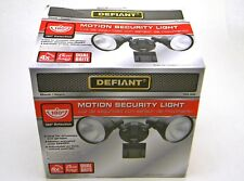 New Defiant 180 Degree Black Motion-Sensing Outdoor Security Light DF-5416-BK-A
