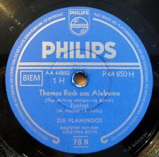 "Die Flamingos - Thomas Rock.. - Oklahoma-Tom - Philips - /10"" 78 RPM"