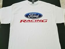 Brand New FORD RACING T-shirt nascar nhra gt lemans@shelby cobra daytona mach 1