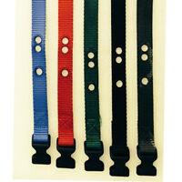 "PetSafe Dog Bark Collar Parts Replacement 1 "" collar with pre cut 3 holes."