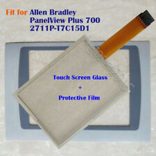 New for Allen Bradley PanelView Plus 700 2711P-T7C15D1 Touch Screen Panel + Film