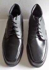 Propet M1210 Black Leather Lace-up Executive Walker Shoe Size 15 3E