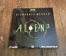 RARE LASERDISC alien 3 DAVID FINCHER SIGOURNEY WEAVER widescreen VG+
