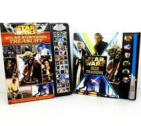 Star Wars Sound Storybook Treasury and Star Wars Jedi Training Sound Books Lot 2