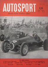 AUTOSPORT magazine 3/4/1953 Vol.6, No.14