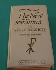 New Testament of the New American Bible Revised 12 audio cassettes-1987
