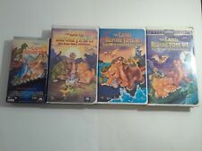 The Land Before Time 1,ll,IV,V  VHS VCR Tapes Childrens Movies