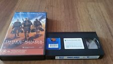 THREE KINGS IT'S GOOD TO BE KING - GEORGE CLOONEY, MARK WAHLBERG -  VHS VIDEO