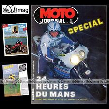 MOTO JOURNAL N°551 24 HEURES DU MANS ★ KAWASAKI GPZ 1100 ★ SIDE-CAR CROSS 1982