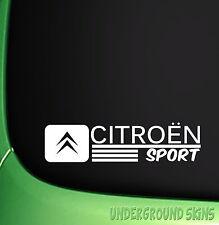 CITROEN SPORT FUNNY CAR STICKER EURO SAXO C1 C2 C3 C C5