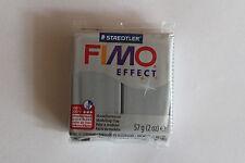 Fimo Modelliermasse FIMO® soft, Effekt metallic silber