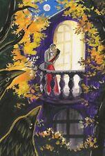 LE #2 4X6 POSTCARD RYTA LOVE VALENTINES DAY SWEETHEART SEXY LOVE AFFAIR CROW ART