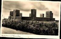 Ansichtskarte PK sw Reichsehrenmal Tannenberg Schlesien Polen Fotografie