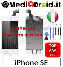 APPLE IPHONE SE BIANCO VETRO DISPLAY LCD SCHERMO COMPLETO ASSEMBLATO ORIGINAL
