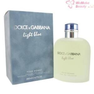 Light Blue by Dolce & Gabbana for Men 6.8oz Eau De Toilette Spray New In Box