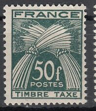 FRANCE TIMBRE TAXE NEUF N° 88  **  TYPE GERBES