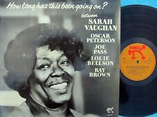 Sarah Vaughan ORIG GER LP How long has this been going on NM '78 Pablo Jazz