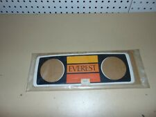 Nos Vintage Skidoo Snowmobile Everest Dash Decal 414310200