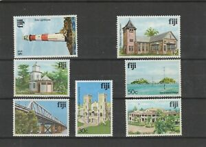 Fiji   1979  Architecture   7 Values  Mint Hinged  scan  1412