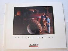 1996 Case International Tractor Equipment Buyer's Guide Catalog LOTS More Listed