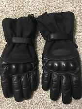 Men's Leather Cold Throttle Olympia Motorcycle Gloves Size XL