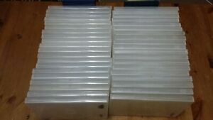 Clear Empty DVD Film Movie Game Single Cases Standard Size x40