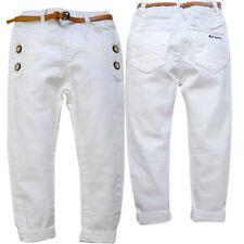 Très beau pantalon jean blanc pour bébé NEUF
