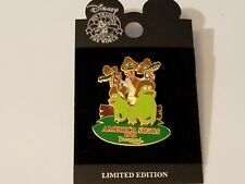 Disney America Sings Tomorrowland Attraction Bayou Pin Limited Edition 1000