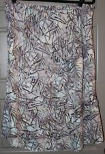 KINTAMANI by Wind River BATIK SKIRT Mid Calf Hippie Boho XL Grey