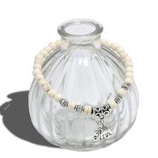 Elegant Turquoise Beads Tibet Silver Elephant Stylish Pendant Elastic Bracelet F