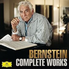 COMPLETE WORKS (LIMITED EDITION ) - BERNSTEIN/LSO/IPO/+  28 CD+DVD NEW+