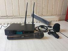 Audio Technica ATW R3100 + AEW C4100 + ATW T341 Wireless Michrophone