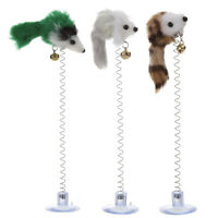 3Pcs False Mouse Pet Cat Toys Mini Funny Playing Toys For Cats Bottom Sucke P4PM