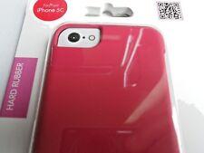 Telefono Nuovo di Zecca Rosa Custodia da Skech per il iPhone 5 C gomma indurita