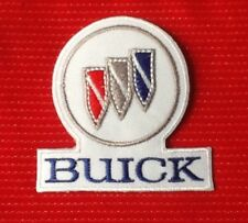 BUICK CLASSIC AMERICAN V8 POWER MUSCLE CAR MOTOR BADGE IRON SEW ON PATCH
