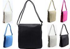 Damentaschen im Messenger-Taschen-Stil mit Verstellbare Trageriemen und Magnetverschluss