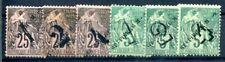 ST PIERRE et MIQUELON 1892 Yvert 45-50 * 94€(F1433