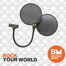sE Electronics Dual Pro Pop Shield Combined Metal & Fabric Pop Filter - BNIB  BM