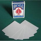Singola Carta Bicycle Gaff Cards - Doppia Faccia Bianca - Carte da Gioco  US2237
