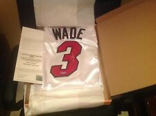 Dwyane Wade Autographed Jersey - White - Upper Deck