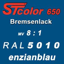 395 g Set STC 2K PU Bremsenlack blau 8:1 hitzebeständiger Lack 150°C Motorlack