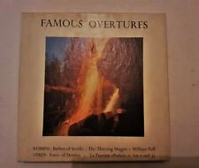 FAMOUS OVERTURES BY VERDI & ROSSINI CONDUCTED BY ALEXANDER GIBSON ON REEL TAPE