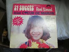 René Simard - 21 Succes 33 Rpm Record Vinyl Lp