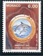 TIMBRE DE MONACO N° 1938 ** FAUNE / INDEMER / DAUPHIN